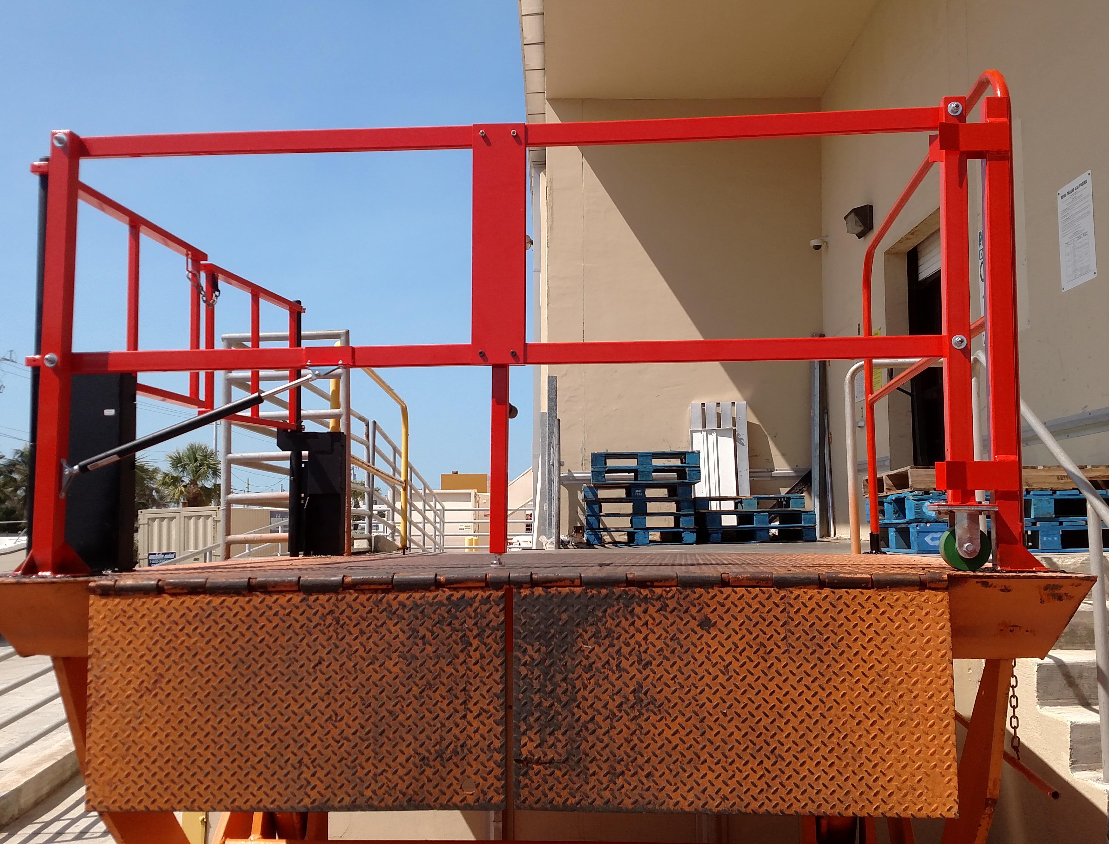 Grocer Protects Workers on Loading Dock Lifts