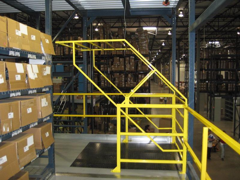 Pivot safety gate for fall protection